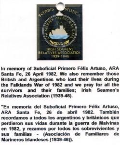 Felix Arturo Inscription